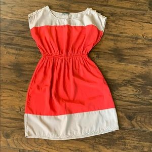 Color-blocking dress